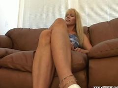 nicole moore - blonde,facial cumshot,mature,one on one