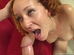 kitty caulfield - big boobs,facial cumshot,internal cumshot,mature,one on one,red head
