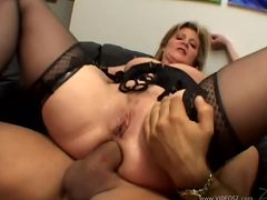 ginger lynn - anal,blonde,double penetration,facial cumshot,lingerie,mature,threesome