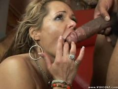 kelly leigh - blonde,facial cumshot,interracial,lingerie,mature,one on one