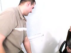 Blue eyed anilos babe rayveness sucks and fucks the office help