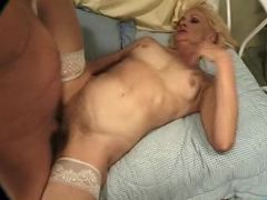 blonde granny getting humped