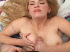 Cutie blonde young momma in wild and mad tit fucking thrill