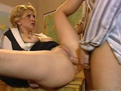 cathy - anal,big boobs,blonde,bubble butt,glasses,mature,titty fuck