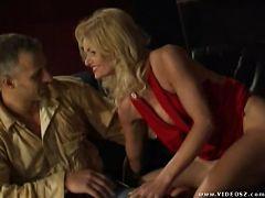 nicoletta blue - anal,blonde,double penetration,facial cumshot,fishnet,foursome,mature